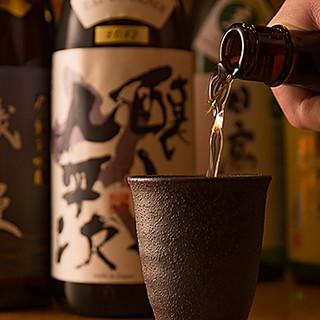 魚の旨味を引き立てる、日本各地の銘酒をご堪能あれ