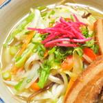 オーガニックキッチンFarve - 裏メニューの野菜沖縄ソバ