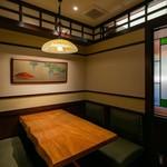 赤ふじ - 個室2室(4席×2卓)