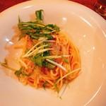103182755 - 白魚と水菜のアーリオ・オーリオスパゲティ@950円