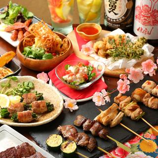 【各種ご宴会に】大山鶏を存分に味わう[飲放付]コース