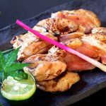 福亭 - 百日鶏の炭火焼き