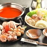 長州鶏のチゲ鍋コース