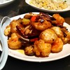 上海酒家 タオタオ - 料理写真:海鮮の四川炒め    1480円
