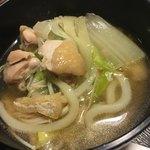 やま正 - 妻の食べれない。鶏肉、白菜を中心に頂きました。(^^)