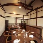 ナカラボ - テーブル席のお部屋:2階