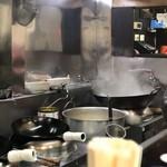 中華 龍虎 - 厨房