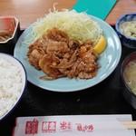 鮒忠人形町店 - 焼肉定食