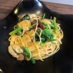 イルピアット - 牡蠣とカラスミのペペロンチーノ1,680円