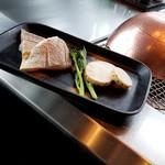 鉄板焼 「金葉亭」 - 真鯛のグリル