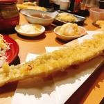 103198936 - 太刀魚一本天ぷら