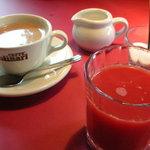 薪釜屋 ciao - コーヒー&ブラッドオレンジジュース