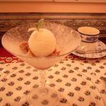 ラトリエ - 冬苺と金柑のクランブル