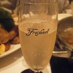 天香回味 - 最初の酒 シュワシュワ