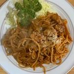 キッチン マロ - ナポリタン¥750