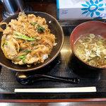ラーメン専科国玉店 麺や丼や - 料理写真:スタミナ豚丼(580円)