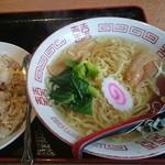 台湾料理 太和菜工坊 - 料理写真:「塩ラーメン・チャーハン」