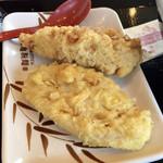 丸亀製麺 - ●れんこん天110円税込 ●かしわ天140円税込