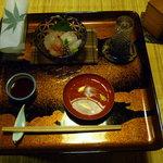 一風庵 - 料理写真:漆塗りがとても美しいお膳