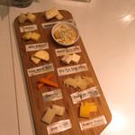103210328 - 10種類のチーズ食べ比べ980円