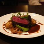 バール&ビストロ ポンレヴェック - 料理写真:蝦夷鹿のステーキ