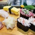 いろは寿司 - お寿司たち