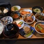 福島屋 - 麻布十品定食