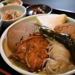 福島屋 - 昔おでん定食