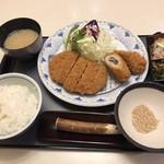 かつ喜 - 料理写真:本日のおすすめランチ 1,058円(税込)