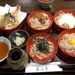 新潟古町 藪そば - 蕎麦つゆと天つゆは別です。