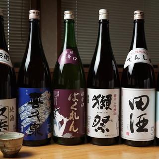 日本酒にこだわり!!