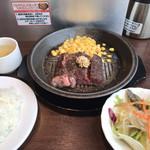 いきなりステーキ - ワイルドステーキセット