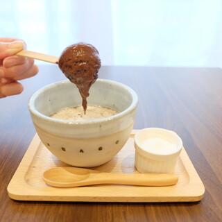ボンヌ カフェ - ホットスティクチョコレート〜食べ方②〜
