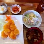 張家 - 海老マヨ定食