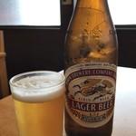 コリアンダイニング 聖 - ドリンク写真:ビールは乾杯用、ほとんど私がいただきました♪(2019.3.7)