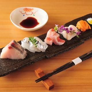 季節ごとに変わる旬の魚をお刺身で『お刺身単品』