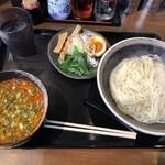 麺屋 八戒 - 辛つけ麺(細めんあつもり)