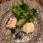 オーレ ベアーテ - 前菜5種類