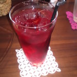 cafe tempo - クランベリージュース