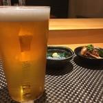 梅はら - 生ビール
