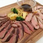 ルーチェ - 高座豚&特選牛赤身肉のミックスグリル