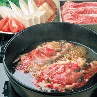 料亭の「すき焼き」を最高の肉で