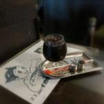 アンヂェラス - ダッチコーヒー(620円)豆まきアトムと共に。