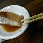 栄屋酒場 - 料理写真:お通し〝鰤の煮付〟
