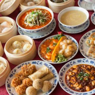 重慶飯店の食べ放題!