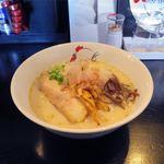 麺屋 丸鶏庵 - 鶏白湯 和(800円)