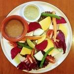 ルーチェ - 新鮮野菜のベジプレート