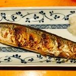 居酒屋 y's家 孝 - 日替わりの焼き魚は旬の魚メイン