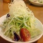 キッチン ポアレ - コースのサラダ