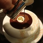 ル・ショコラ・アラン・デュカス - クープ・グラッセ・オ・カフェ